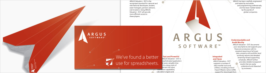 Argus Direct Mailer - Design for direct mailer for...