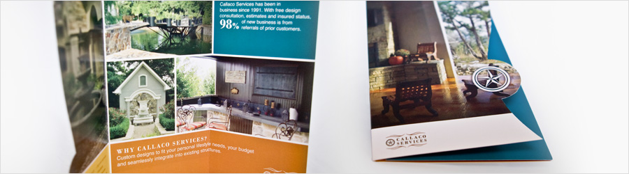Callaco Services Brochure - Brochure design