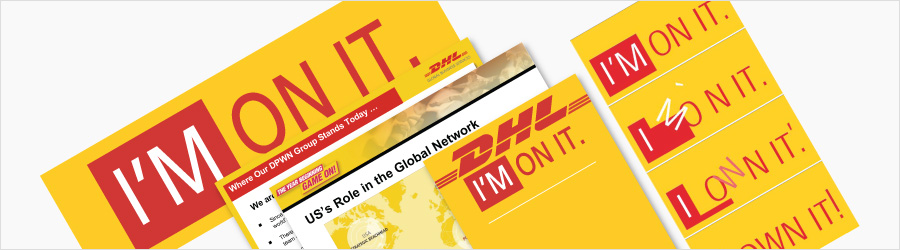 DHL Event Branding - Event branding of...