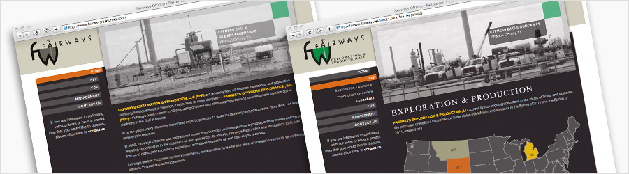 Fairways Website - Website design for Fairways...