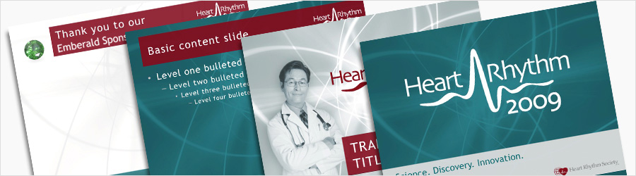 Heart Rhythm PowerPoint Alt 2008 - PowerPoint template and...