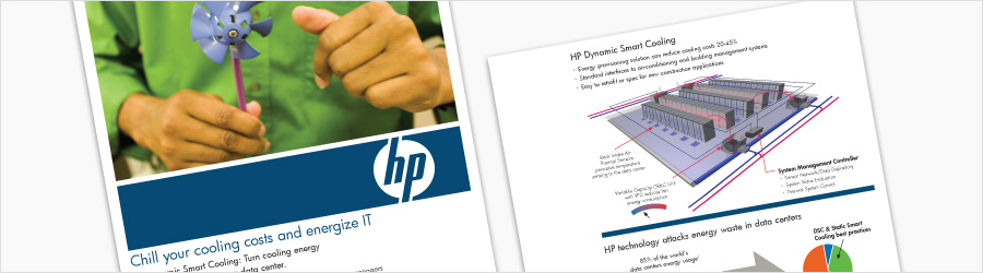 HP DSC Flier and Illustrations - Internal informational flier...